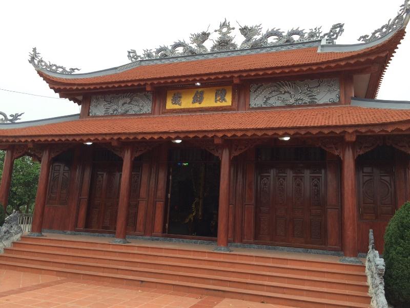 Xây dựng từ đường họ Trần Trình Phố